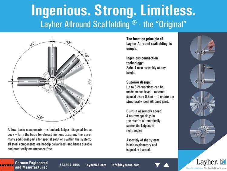 Layher North America Brochure By Nri Digital