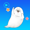 Water Seal Animated Stickers