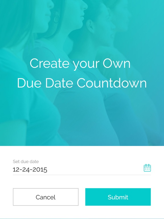 Due date countdown in Melbourne