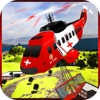 Heli-copter Flying Simulator : Forest Rescue Game