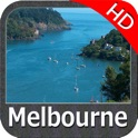 Marine : Melbourne HD - GPS Map Navigator icon