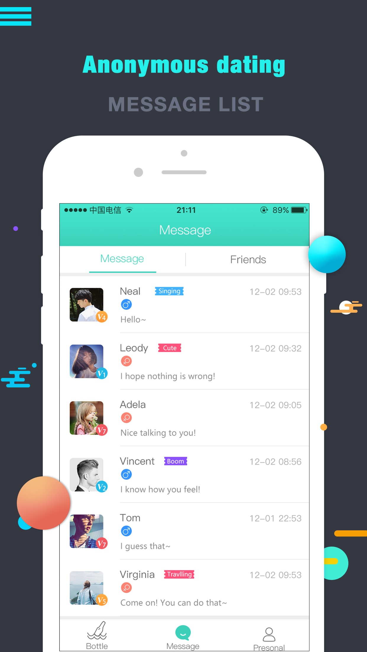 Waka Chat omegle meet strangers anonymous dating by Mingren Zhao AppAdvice