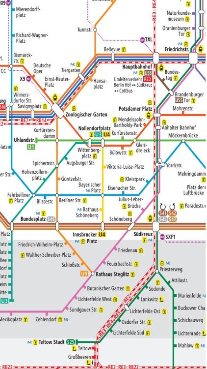 köpenicker straße berlin maps