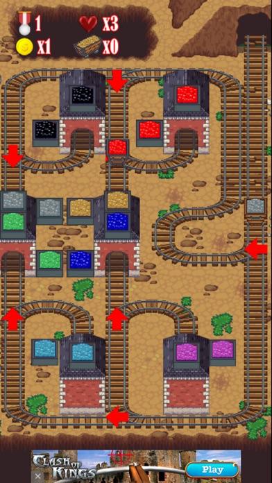Mine Rails Rush Screenshot