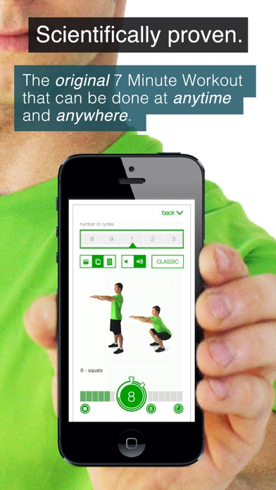 download 7 Minute Workout Challenge (Ad Supported) appstore review
