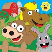Coloring Farm Animal Malbuch Für Kinderspiele