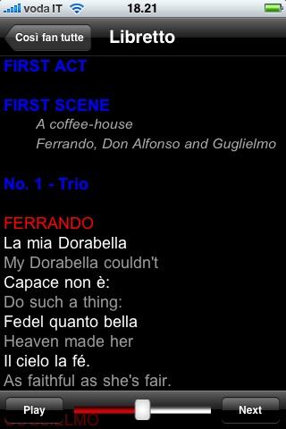 Screenshot of Opera: Così fan tutte4