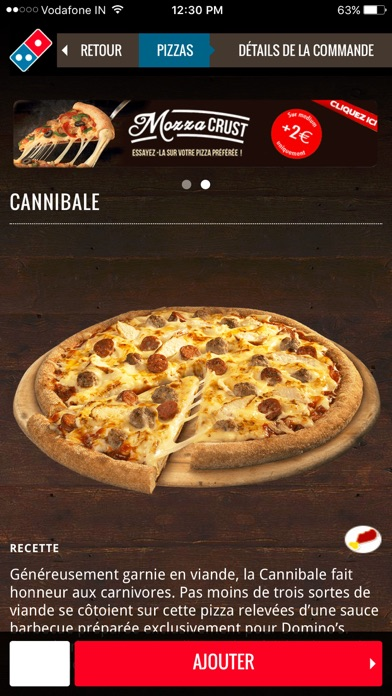 download Domino's Pizza France apps 2