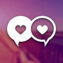 DOWN Citas: Conoce, Chat, Salir con gente soltera icon