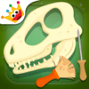 Coloring Dinosaur & Games for Kids: Archaeologist