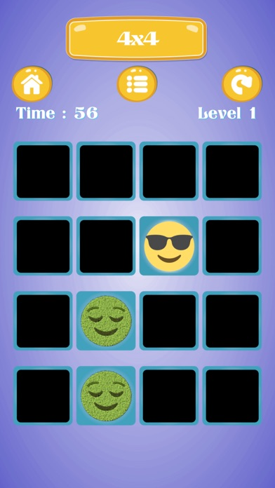 Screenshot of Brain Training with Emoji App