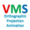 VMS Orthographic Projection Animation