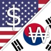 US Dollar USD Korean Won KRW converter