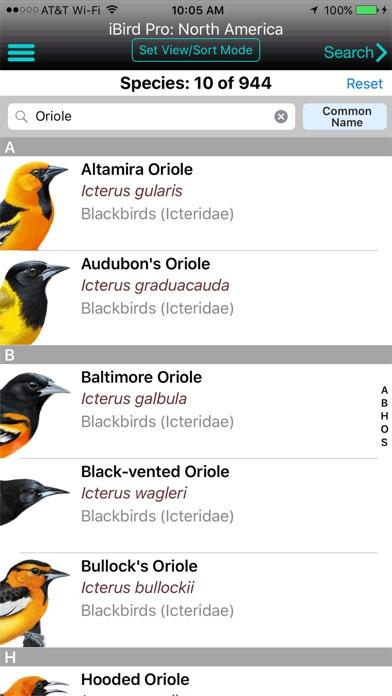 iBird Pro Guide to Birds Screenshot