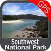 Southwest National Park GPS charts Navigator