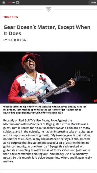 Premier Guitar Magazine review screenshots