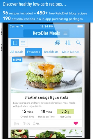 KetoDiet screenshot 1
