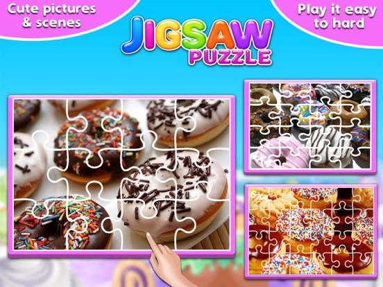 Screenshot #2 for Sweet Donuts Jigsaw Puzzle - Sweet Logic Game