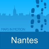 Nantes on Foot: Offline Map