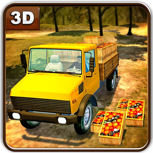 Farm Fruits Transporter Truck & Delivery Sim iOS App
