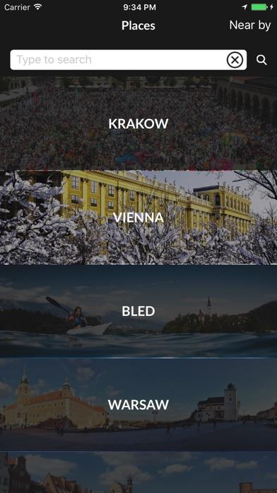 iPhone — krakow travel app