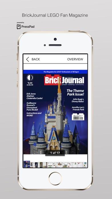 Brickjournal Lego Fan Magazine review screenshots