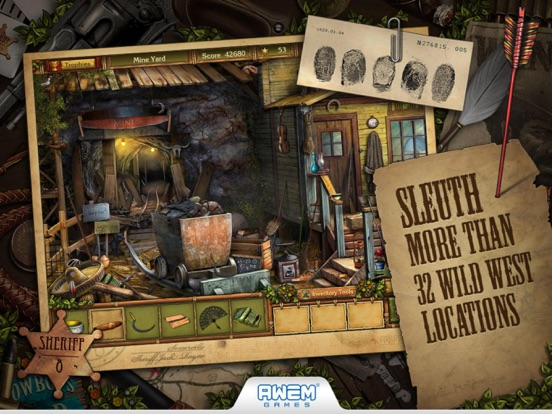 Screenshot #3 for Golden Trails: Hidden Object Adventure (Premium)