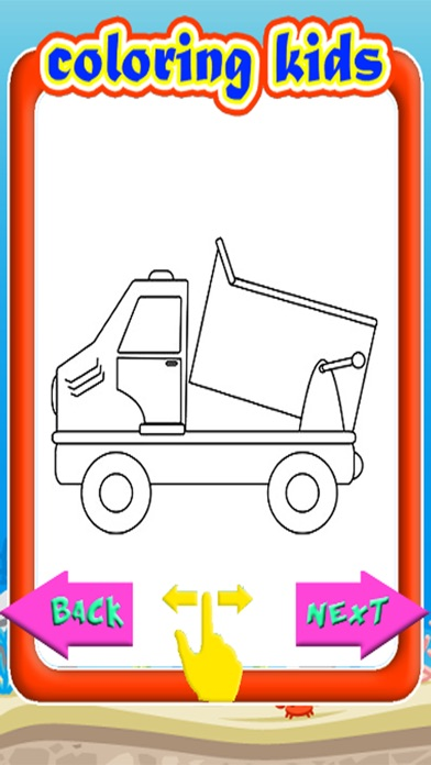 Coloring Pages App For Android : Coloring book pages dump truck version app download