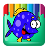 Draw And Paint Fish Coloring Kids Education Wiki