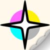 COLOREST - Glitter Pigment Coloring Book