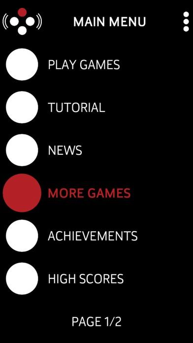 Audio Game Hub Screenshot