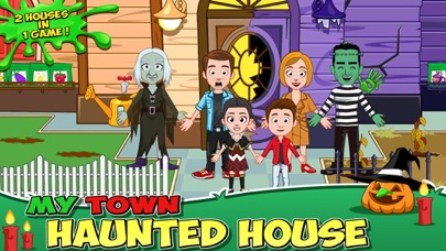 My Town : Haunted House Screenshot