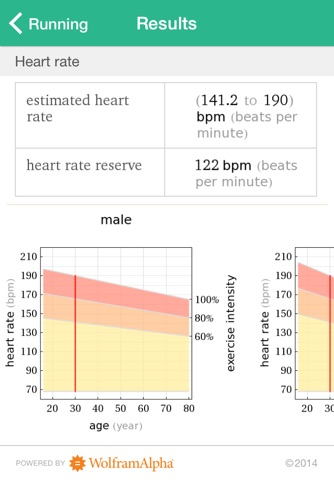 Wolfram Personal Fitness Assistant App screenshot 4