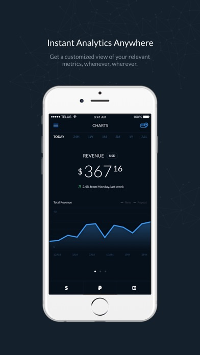 Control Stripe Paypal Square Analytics On The App Store