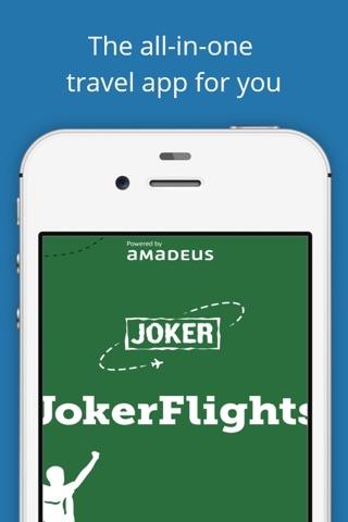 JokerFlights screenshot 1