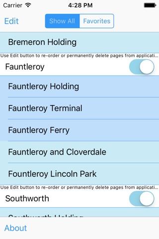 MultiCam Washington Ferries screenshot 2