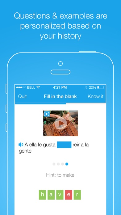 download FluentU: Learn languages appstore review