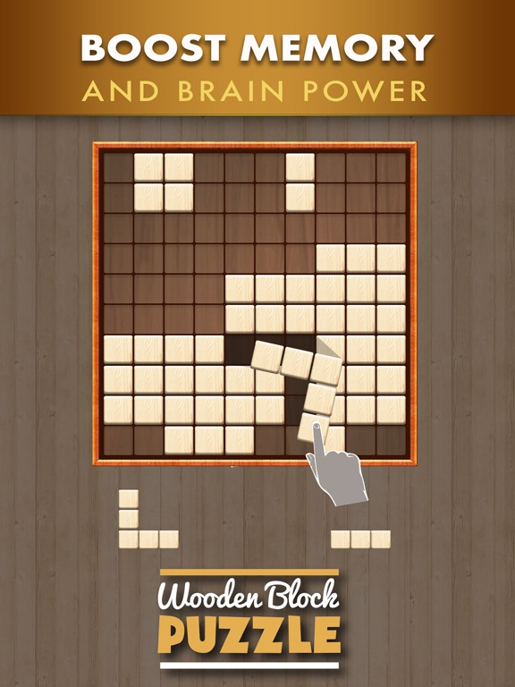 Screenshots of Wooden Block Puzzle Game for iPad