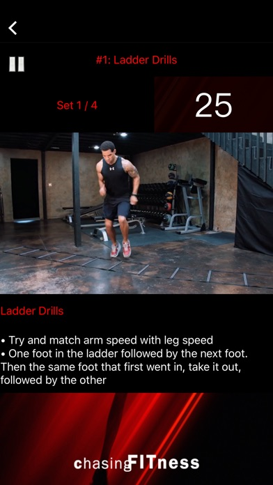 Chasing Fitness: 31 Reasons Screenshot