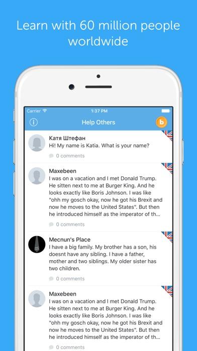 download busuu - Learn to speak German appstore review