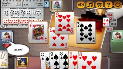Belote OnlineCapture d'écran de 2