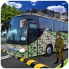 Military Commando Transport Bus Driving Game