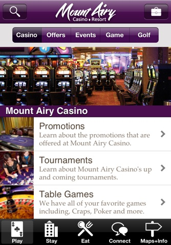 Mount Airy Casino screenshot 1