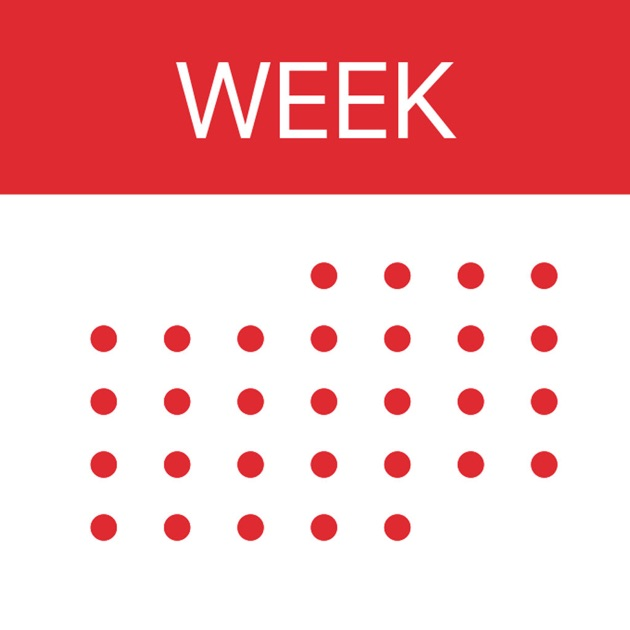 Blank Calendar App Icon : Week calendar on the app store