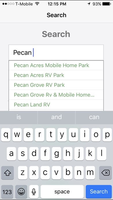 RV Parks On The App Store