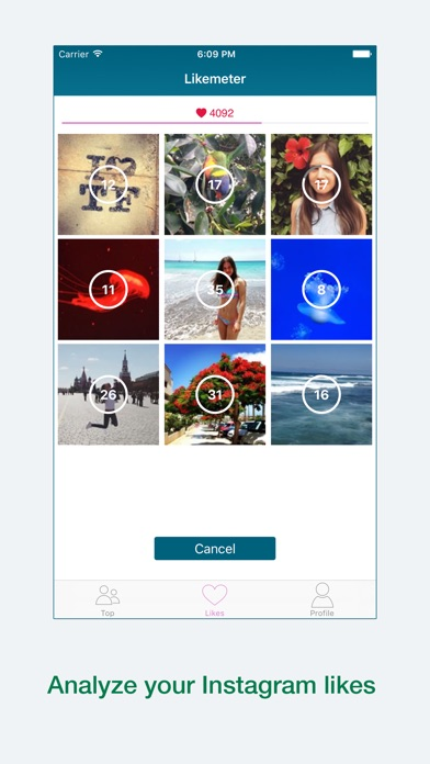 Likemeter - Analyze your Instagram likes screenshot two