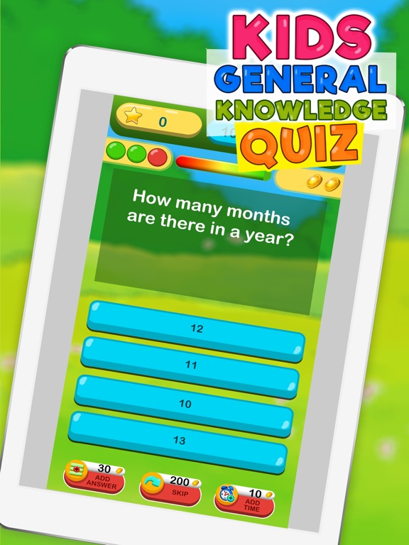 General Knowledge Quiz for Kids – Trivia Game by Lazar