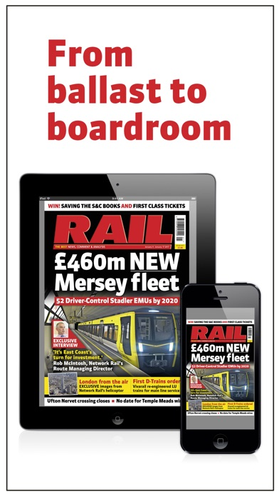 Rail Magazine review screenshots