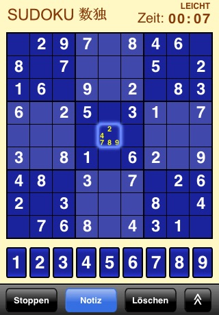 Sudoku (Free) screenshot 1