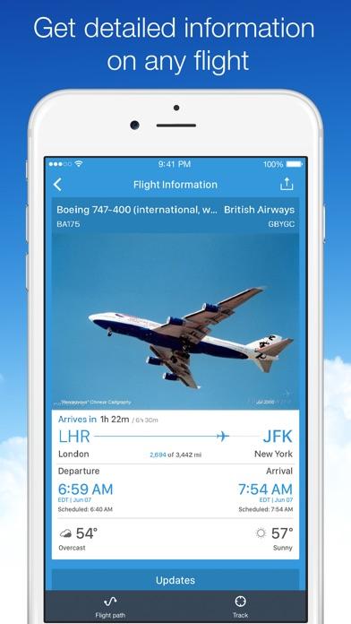 Screenshot #7 for Planes Live - Flight Status Tracker and Radar